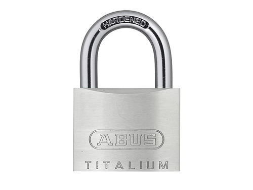 ABUS Mechanical ABU54TI40C 54TI/40mm TITALIUM Padlock Carded
