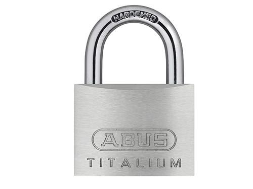 ABUS Mechanical ABU54TI50C 54TI/50mm TITALIUM Padlock Carded