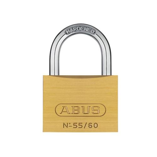 ABUS Mechanical ABU5560C 55/60mm Brass Padlock Carded | Toolden