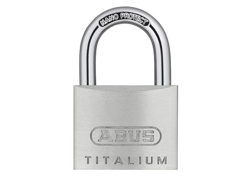ABUS Mechanical ABU64TI35C 64TI/35mm TITALIUM Padlock Carded