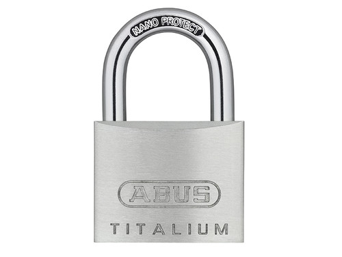 ABUS Mechanical ABU64TI40QPK 64TI/40mm TITALIUM Padlock Quadpack