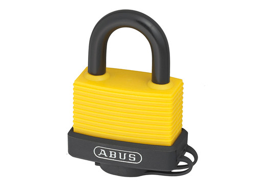 ABUS Mechanical ABU70AL45C 70AL/45mm Aluminium Padlock Assorted Colour Carded | Toolden