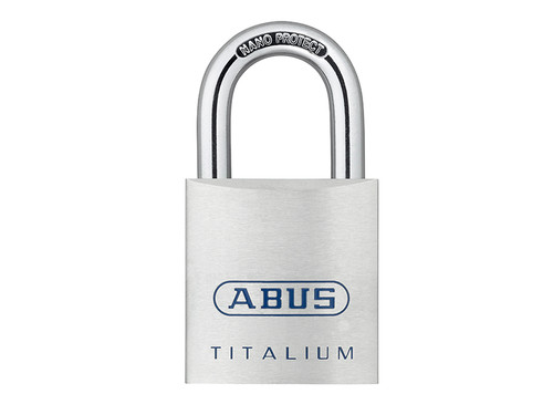 ABUS Mechanical ABU80TI40C 80TI/40mm TITALIUM Padlock Carded