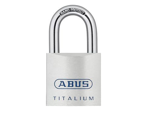 ABUS Mechanical ABU80TI50C 80TI/50mm TITALIUM Padlock Carded