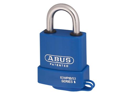 ABUS Mechanical ABU83IB53C 83WPIB/53mm Submariner Brass Padlock Carded | Toolden