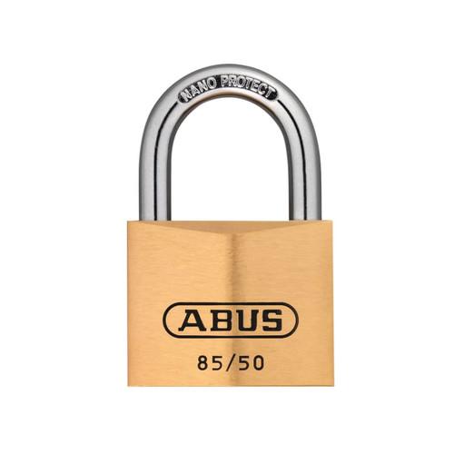 ABUS Mechanical ABU8550 85/50mm Brass Padlock   Toolden