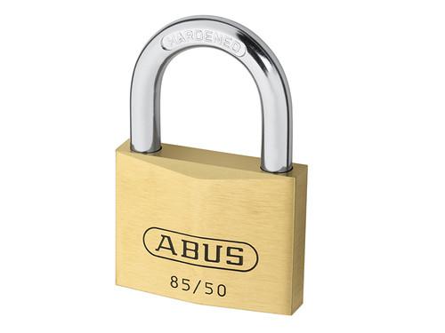 ABUS Mechanical ABU8550C 85/50mm Brass Padlock Carded | Toolden
