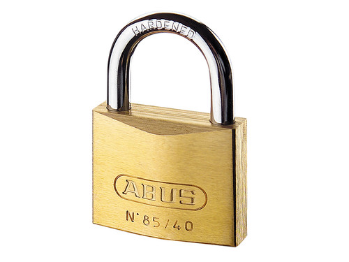 ABUS Mechanical ABU8560C 85/60mm Brass Padlock Carded | Toolden