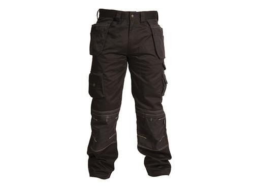 Apache APAHTB3132 Black Holster Trousers Waist 32in Leg 31in | Toolden