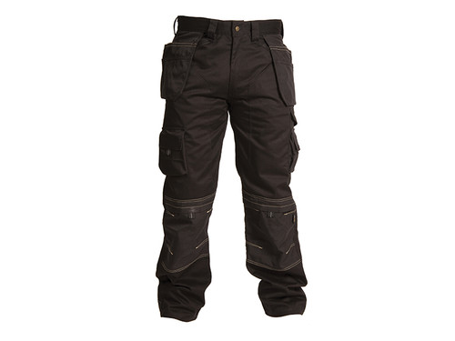 Apache APAHTB3132 Black Holster Trousers Waist 32in Leg 31in | Toolden