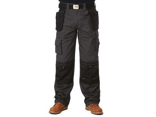 Apache APAHTG3132 Black & Grey Holster Trousers Waist 32in Leg 31in | Toolden