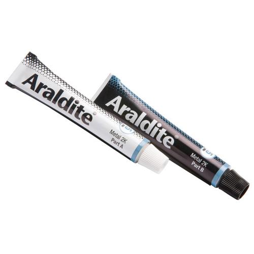 Araldite ARA400010 Steel Epoxy 2 x 15ml Tubes | Toolden