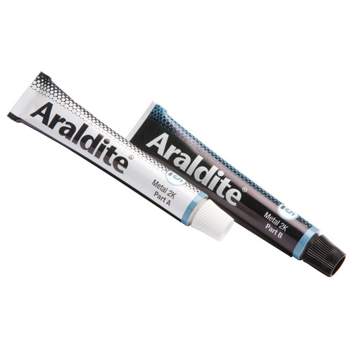 Araldite ARA400010 Steel Epoxy 2 x 15ml Tubes | Toolden