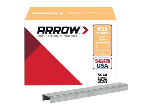 Arrow ARRP3538 P35 Staples 10mm (3/8in) Box 5040 | Toolden