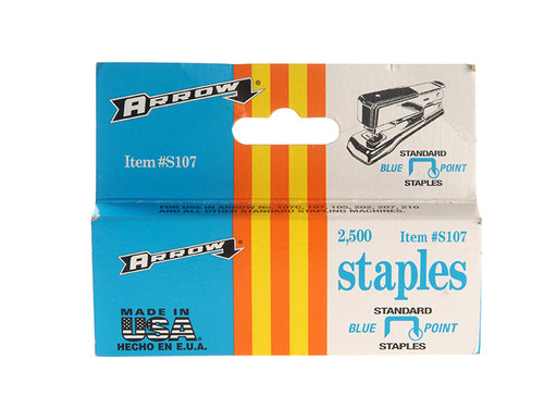 Arrow ARRS107 S107 Staples Box 2500 | Toolden