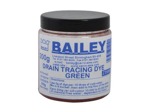 Bailey BAI3589 3589 Drain Tracing Dye - Green | Toolden