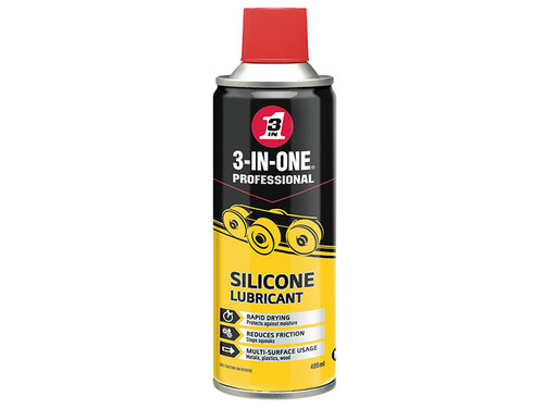 3-IN-ONE HOW44015 3-IN-ONE Silicone Spray 400ml | Toolden