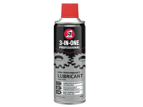 3-IN-ONE HOW44603 3-IN-ONE High-Performance Lubricant with PTFE 400ml | Toolden