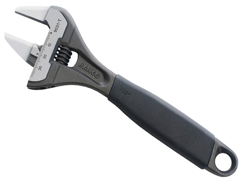Bahco 9031T Slim Jaw Adjustable Wrench 200mm (8in)