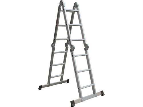 Multi-Position Folding Ladder with Platform | Toolden