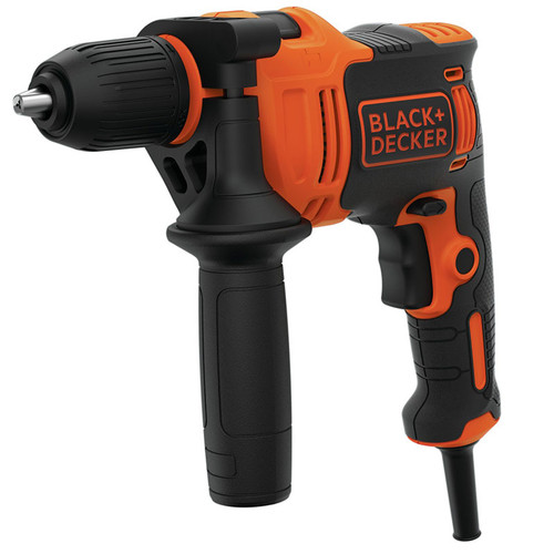 Black & Decker BEH550K 240v Percussion Drill 13mm Keyless Chuck | Toolden