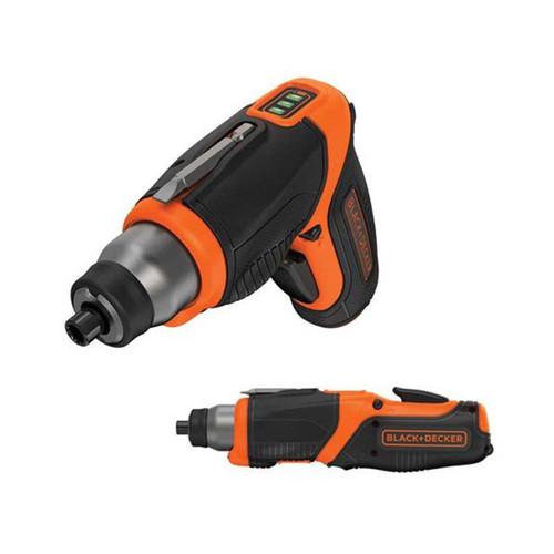 Black & Decker CS3653 3.6V 1.5Ah Li-Ion Cordless Screwdriver with LED Worklight | Toolden