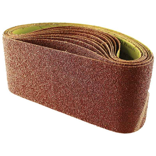 Abracs 100mm x 610mm 60 grit sanding belts pack of 10