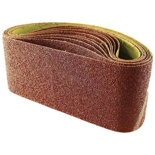 Abracs 100mm x 610mm 80 grit sanding belts pack of 10