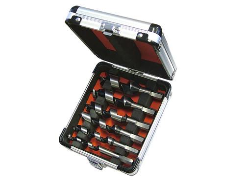 Faithfull Stubby Combination Wood Auger Bit Set 6 Piece 10-25mm
