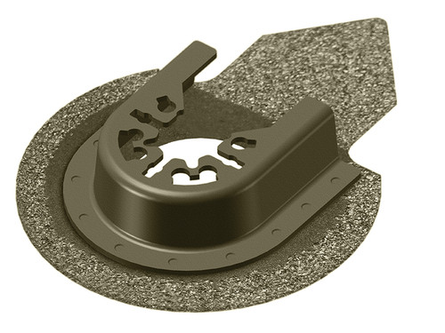 Faithfull Multi-Functional Tool Carbide Grit Finger Grout Remover 65mm