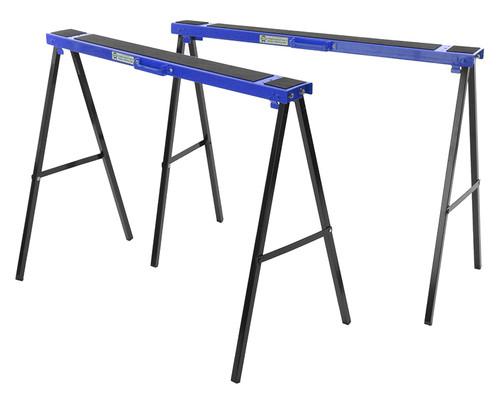 Faithfull Steel Trestles(Set 2) Height 78cm x Length 100cm x Width 10cm
