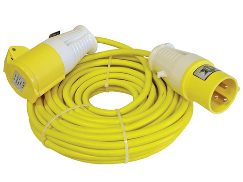 Faithfull Power Plus Trailing Lead 14 Metre 1750W 16 Amp 1.5mm Cable 110 Volt | Toolden