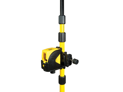 Stanley 1-77-123 Intelli Tools Cross Line Laser Kit with Pole