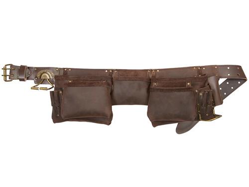 Kuny's 19427 Oil Leather Construction Apron 12 Pocket