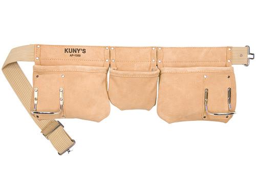 Kuny's AP-1300 Carpenter's Apron 5 Pocket Suede Leather