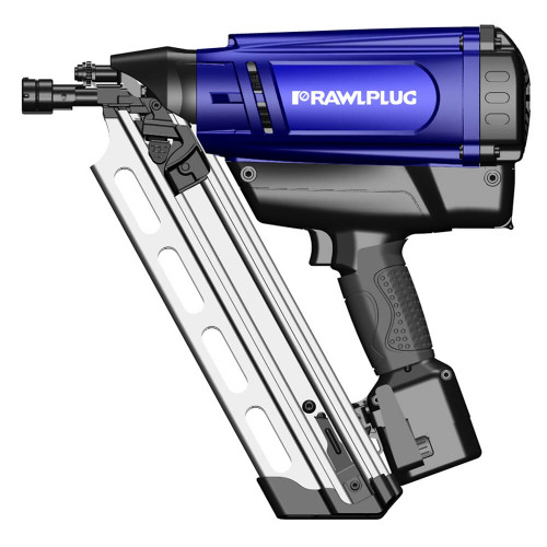 Rawlplug WW90CH Gas Framing Nailer with 2 Batteries from Toolden