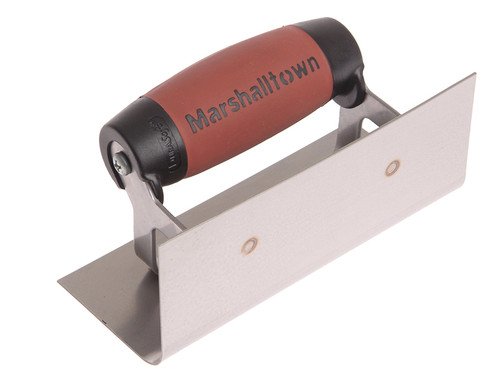 Marshalltown 66SSD Internal Corner Trowel Rounded Stainless Steel DuraSoft Handle from Toolden.