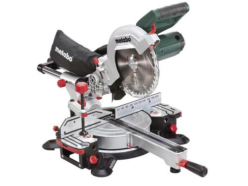 Metabo KGS-216MN 216mm Sliding Mitre Saw 1500 Watt 240 Volt| Toolden