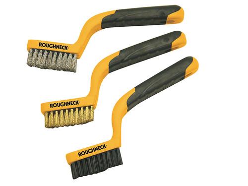 Roughneck Narrow Brush Set of 3