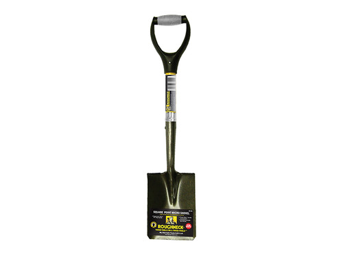 Roughneck Micro Shovel Square Point 685mm (27in) Handle