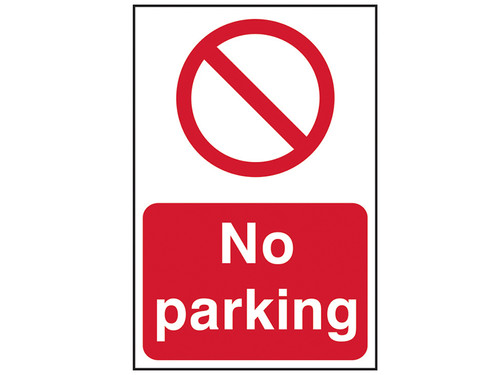 Scan No Parking - PVC 200 x 300mm