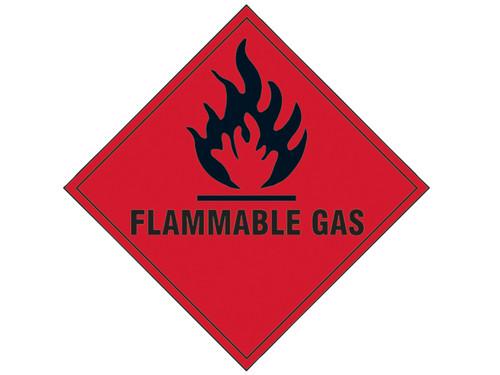 Scan Flammable Gas SAV - 100 x 100mm