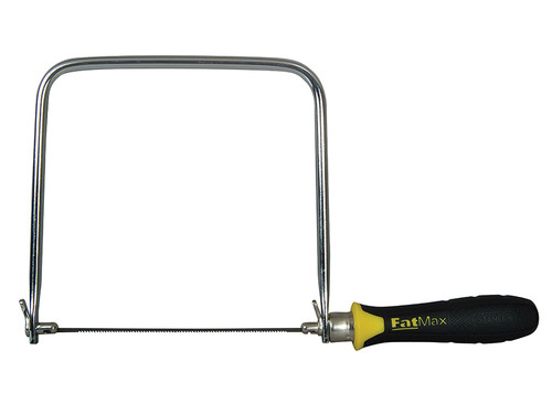Stanley Tools FatMax Coping Saw 165mm (6.3/4in) 14tpi