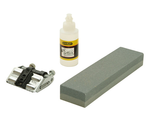 Stanley Tools OilStone 200mm, Oil & Honing Guide