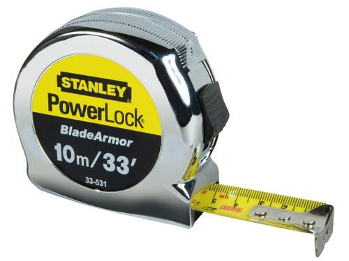 Stanley Tools Powerlock Rule Blade Armor 10m/30ft   Toolden