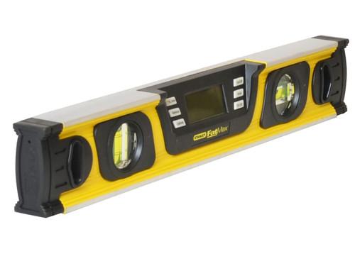 Stanley Tools FatMax Digital Level 3 Vial 60cm   Toolden