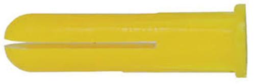 Rawlplug HDPE Yello Plastic Plug 1000 Pack   Toolden