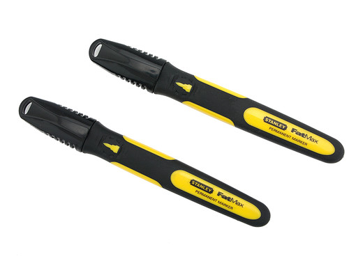 Stanley Tools Black Fine Tip Markers (2)