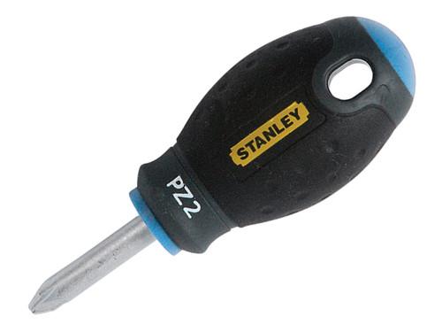 Stanley Tools FatMax Screwdriver Pozi PZ2 x 30mm Stubby