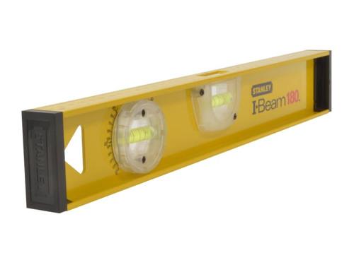 Stanley Tools PRO-180 I-Beam Level 3 Vial 60cm